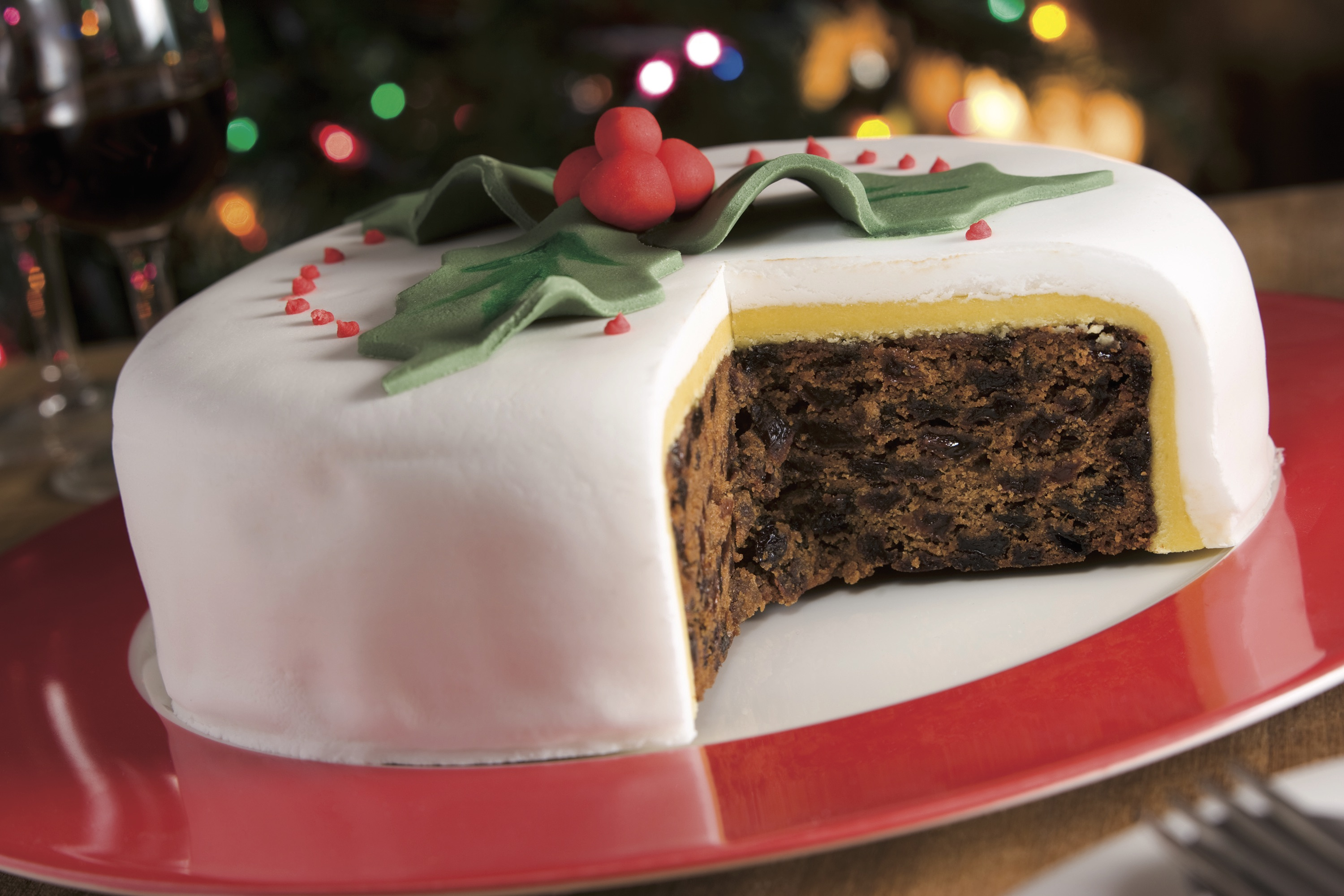 Torte Decorate Di Natale our christmas cake tradition - vip magazine